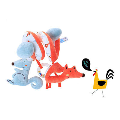 Shop for Labebe Car Seat Toy, Hanging Toy for Baby with Blue ...