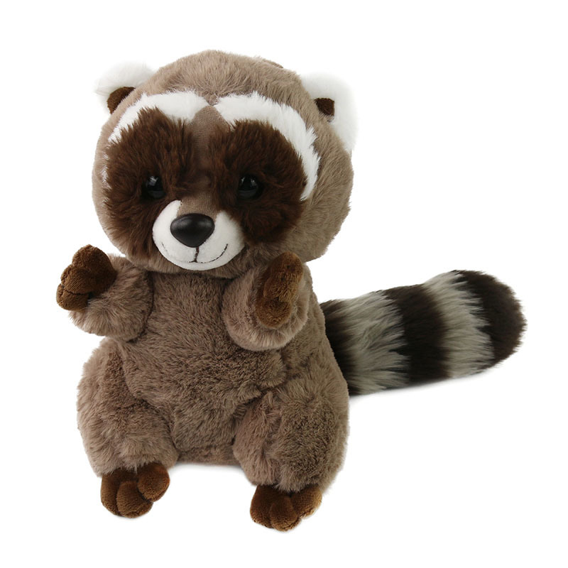 Shop For Realistic Stuffed Fluffy Raccoon Plush Toy Gift For Kids At