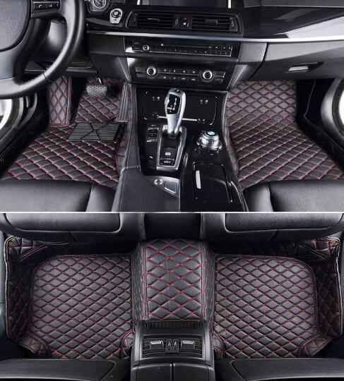 Shop For Audi A3 2014 Car Floor Mats Xpe Leather 5d Diamond