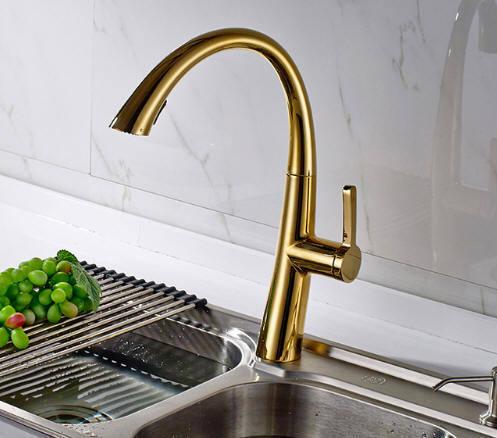 Shop For Flg Hot Sale Oil Rubbed Bronze Gold Kitchen Faucet Swivel