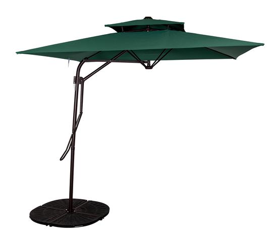 Shop for Sundale Outdoor 8.2 ft Aluminum Offset Patio Umbrella with Hand Push Lift and Cross Bar Set Cantilever Umbrella for Deck Garden Backyard ...  sc 1 st  Crov.com & Shop for Sundale Outdoor 8.2 ft Aluminum Offset Patio Umbrella with ...