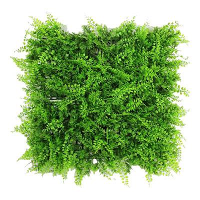 ULAND Artificial Boxwood Hedges Panel 6pcs 20x20 Inches Plastic Garden  Grass Ivy Fence Mat Outdoor Balcony Shrubs Garden Ornaments 6 Pieces /  Carton