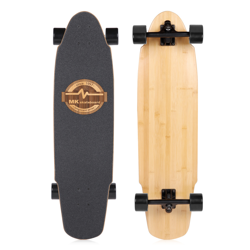 Shop for MK Longboard Downhill Natural Bamboo Maple Hybrid 35.5x9.5 ...