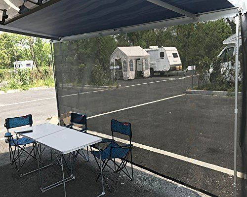 Shop For Tentproinc RV Awning Sun Shade 7x14 Black Mesh Screen Blocker Complete Kits Drop Motorhome Trailer Tarp Canopy Shelter