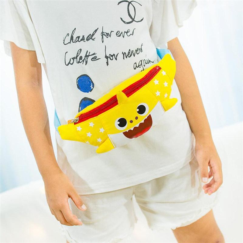 0ad0fd7c0751 Shop for Baby Shark Cute Cartoon Waist Bag Boys Girls One Shoulder ...