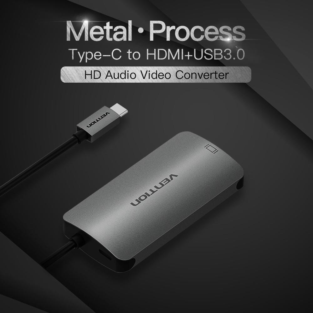 Shop for VENTION USB C to HDMI Adapter HD AV/IT 4K Converter