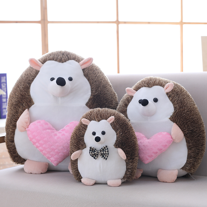 Shop For Big Stuffed Hedgehog Toys With Red Love Plush Hedgehog