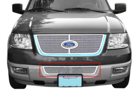 Scc Mesh Grille Insert For 2003 2006 Ford Expedition