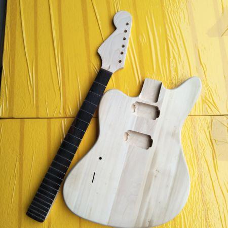 075c4b9946 Left Hand Electric Guitar Semi-Finished Products 6-String Electric Guitar  Semi-Finished