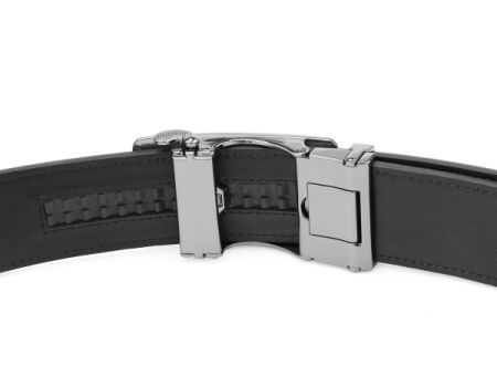 Holeless Leather Straps for Men