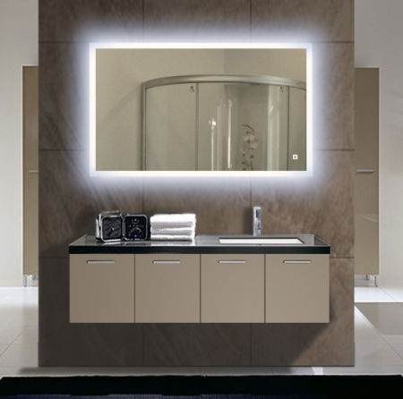 24 X36 Both Horizontal And Vertical Wall Mounted Led Vanity Backlit Mirror