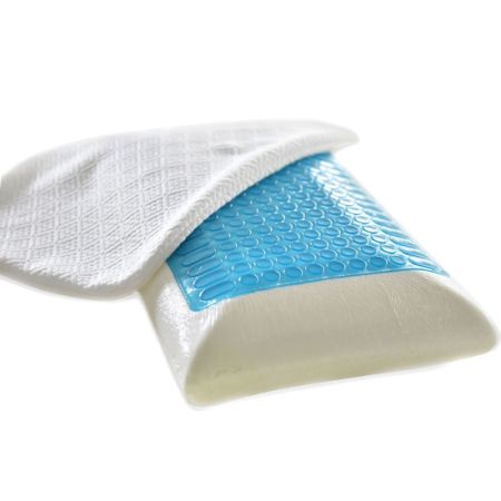 contour comfort pillow gel free foam of memory product coolvent touch bath bedding