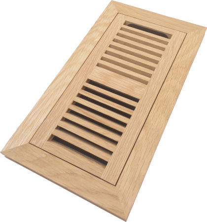 Shop For Homewell 4 Quot X 10 Quot Solid White Oak Wood Vent Cover