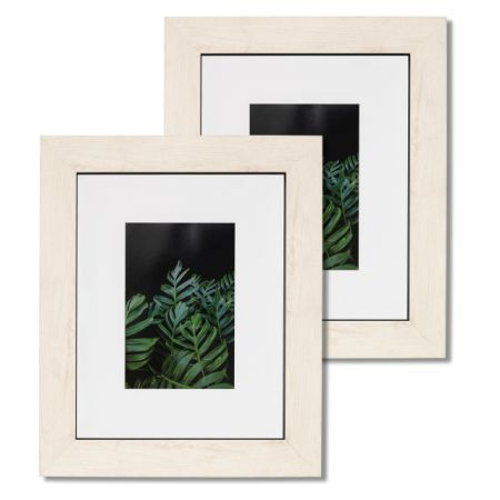 Shop for 8x10 Picture Frame Mat & Glass Wood Finish Wall Tablet ...