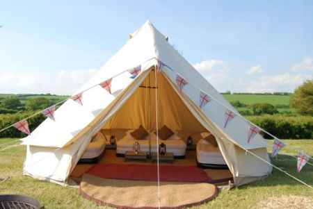 Durable Cotton Canvas Bell Tent 5m C&ing Tent for Family Sibley Tent & Shop for Durable Cotton Canvas Bell Tent 5m Camping Tent for ...