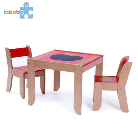 Labebe Kid\u0027s Furniture Activity Table and Chair Set in Wood - Red Apple for 1  sc 1 st  Crov.com & Shop for Labebe Kid\u0027s Furniture Activity Table and Chair Set in Wood ...
