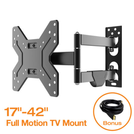 Shop for fleximounts full motion articulating tv wall for Motorized full motion tv wall mount