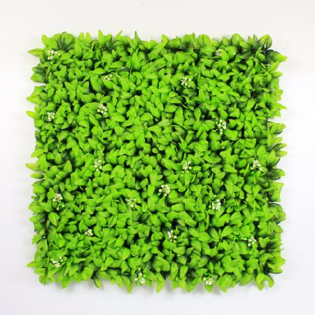ULAND Artificial Plastic Privacy Fence Plants 1.5 SQM Fencing For Garden  Decorative Boxwood Hedge Panels Christmas