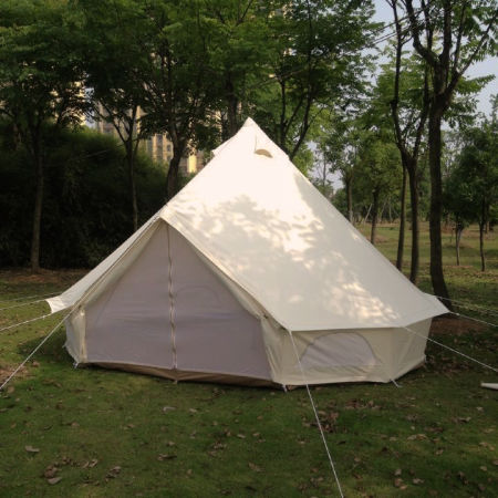 Heavy Duty 900D Oxford 4m Bell Tent Outdoor C&ing Tent for Family Gl&ing Tent & Shop for Heavy Duty 900D Oxford 4m Bell Tent Outdoor Camping Tent ...