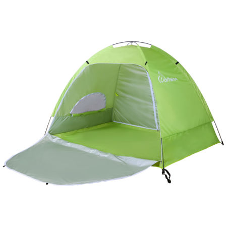 Wolfwise Portable Upf 50 Easy Pop Up Beach Tent Instant Sun Shelter Sunshade Baby