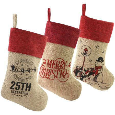 free dropshipping set of 3pcs christmas stockings christmas holiday embroidered stockings cute gift socks - Embroidered Stockings Christmas