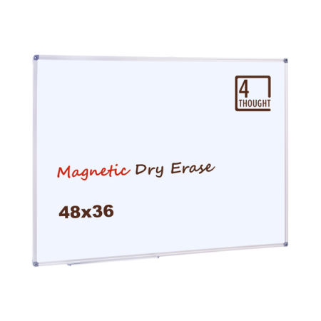 Shop for 4 Thought Magnetic Dry Erase Board, 48 X 36 Inches ...