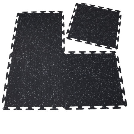 how to clean exercise floor rubber mat