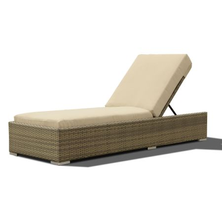 Outdoor Lounge Wicker U0026 Rattan Chaise Patio Daybed Adjustable Baskrest