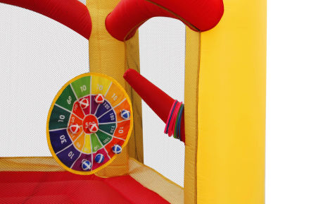 Spinning Windmill Castle Jumping Inflatable without Blower