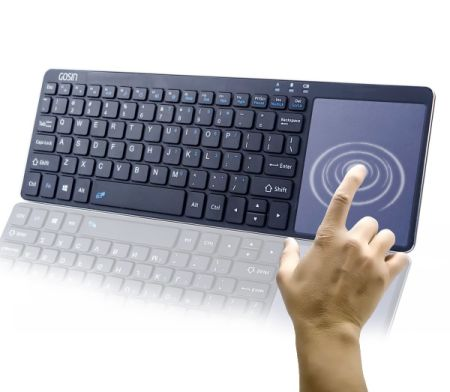 shop for wireless keyboard gosin ultrathin all in one metal bluetooth keyboard touchpad for. Black Bedroom Furniture Sets. Home Design Ideas