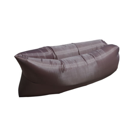 Inflatable Lounger, Portable Air Beds Sleeping Sofa Couch(brown)