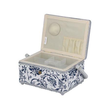Wood U0026 Fabric Handmade Arts U0026 Crafts Gift Storage Boxes Jewelry Box With  Handle