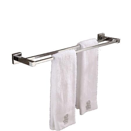 modern double towel bar. Modern Square Wall Hung Bathroom Double Towel Bar With Chrome Finish