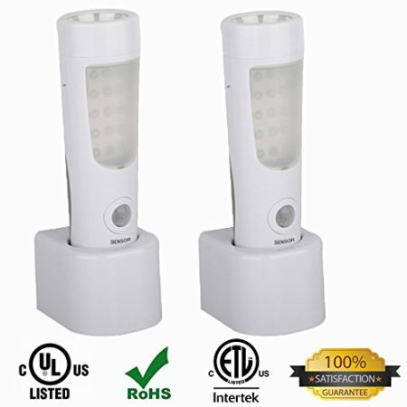 2 PACK 3 In 1 Emergency Power Failure LED Light, Motion Sensor Wall Amazing Pictures