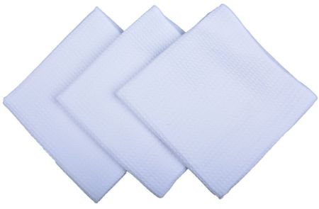 Sinland Kitchen Towels Microfiber Waffle Weave Hand Towels Wash Cloths Tea  Towels