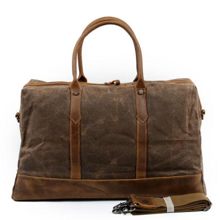 Redswan Weekend Bag Weekender Overnight Canvas Vintage Travel Duffle For Men Or Women