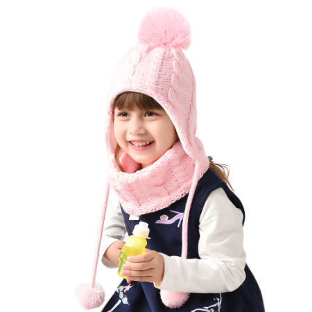 4e207466657 Shop For Kids Winter Hat And Scarf Set For Baby Girls Boys Toddler