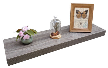 36 wall shelf industrial homewell wood floating wall shelf for home decoration 36 shop 36