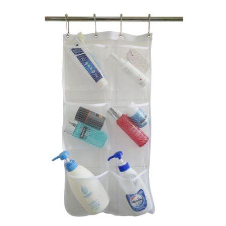 Bath Shower Caddy shop for hanging mesh bath shower caddy organizer with 6 clear