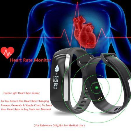 Shop for M2 Smart Wrist Band Watch Blood Pressure Heart ...