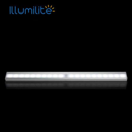 Led Strip Light Rechargeable 20leds Motion Sensor Night Light Switch Wireless  Closet Light For Cabinet Pantry