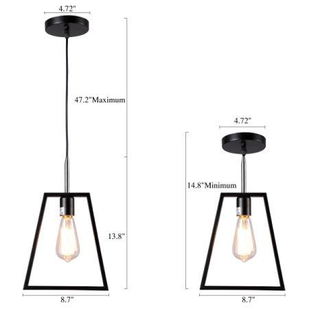 Trapezoid Kitchen Pendant Light