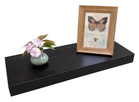 Homewell Wood Floating Wall Shelf For Home Decoration 24\
