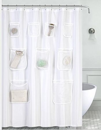 Shop for Water-Proof Mildew Resistant Fabric Shower Curtain Liner ...