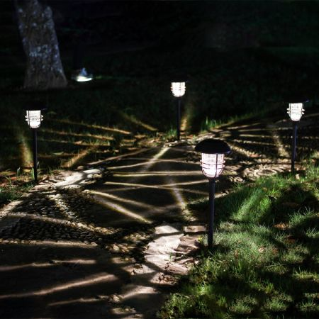 Outdoor Solar Pathway Lights Shop for gigalumi outdoor solar lights glass and powder coated cast gigalumi outdoor solar lights glass and powder coated cast aluminum metal path lights high workwithnaturefo