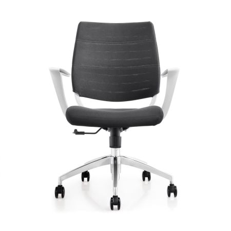 shop for topsit rolling office swivel desk chair white at wholesale