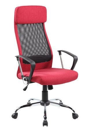 Ordinaire High Back Mesh And Fabric Executive Managerial Computer Desk Swivel Office  Chair With High Quality