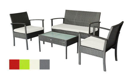 Patio Set Small Outdoor Furniture Set Wicker Porch Furniture Loveseat and  Chairs with Extra Cushion Covers - Patio Furniture Sets, Buy Patio Furniture Sets In Bulk Online On