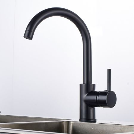 Shop for Gimili Kitchen Sink Taps Basin Tap Mixer Black at Wholesale ...