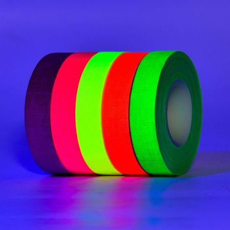 shop for gigalumi 5 pack uv blacklight reactive glow in the dark
